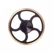 Spinner (спиннер) Hand spinner Hs017 metall (black/gold)