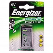 Аккумулятор 9V (крона) Energizer HR22/9V Power Plus Ni-MH 175 mA (1/6)