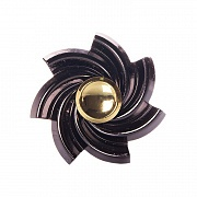 Spinner (спиннер) Hand spinner Hs011 metall (black)